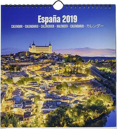 Grupo Erik Editores KALM1902 - Calendario turístico 2019 España ...