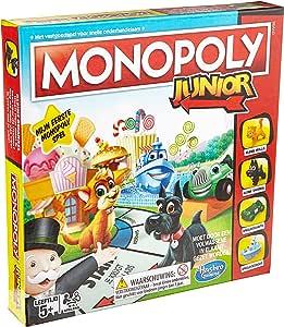 Hasbro Monopoly Junior Niños y Adultos Simulación económica - Juego de Tablero (Simulación económica, Niños y Adultos, Niño/niña, 5 año(s), Caja): Amazon.es: Juguetes y juegos