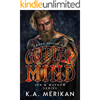 Gutter Mind - Smoke Valley MC (M/M biker romance) (Sex & Mayhem Book 12) book cover