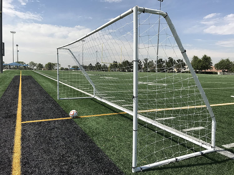 Pass Premier 18.5 X 6.5 Ft。公式Youth regulationスチールサッカーゴール。2