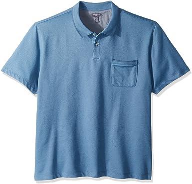 d17d92d398a Van Heusen Men s Flex Short Sleeve Polo at Amazon Men s Clothing store