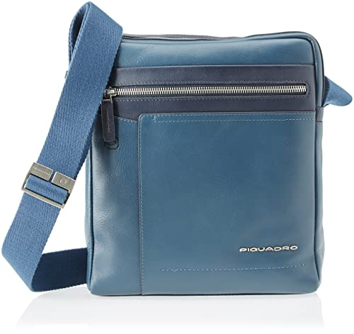grande vendita 2f6e9 a093e PIQUADRO Ca4111w82 Borsa Messenger, Uomo, Blu: Amazon.it ...