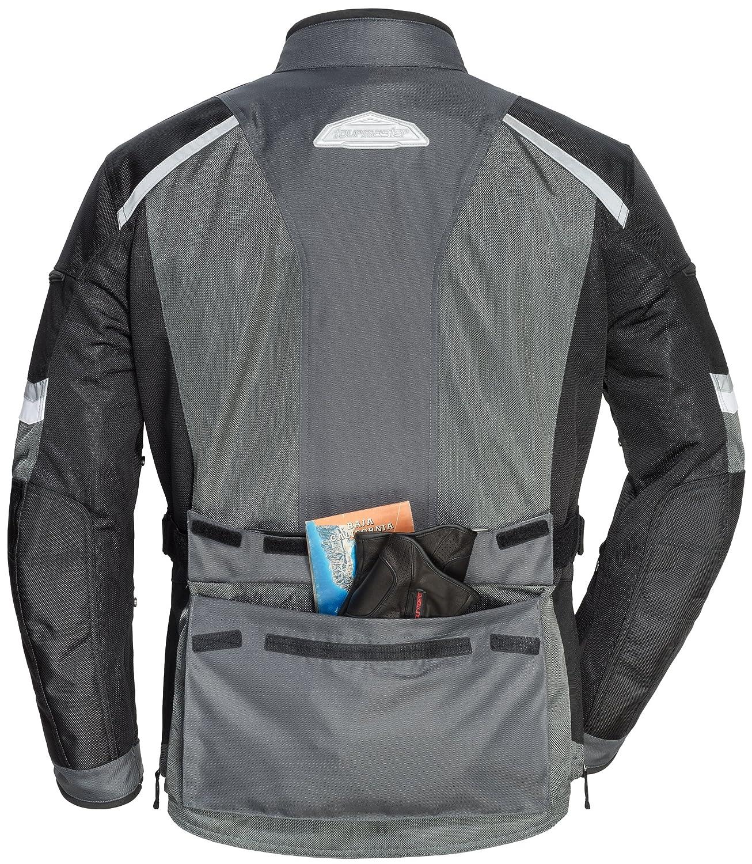 TourMaster Mens Sonora Air 2.0 Jacket Black//Gun, X-Large