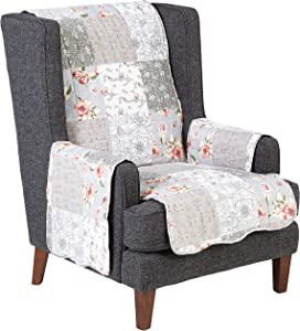Barefoot Bungalow Giulia Furniture Cover, Arm Chair, Gray