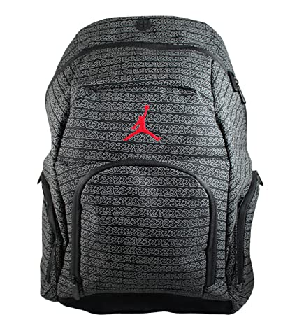 6bf429fa313 Image Unavailable. Image not available for. Color: Nike Jordan Jumpman 23  Monogram Backpack - Black/Grey