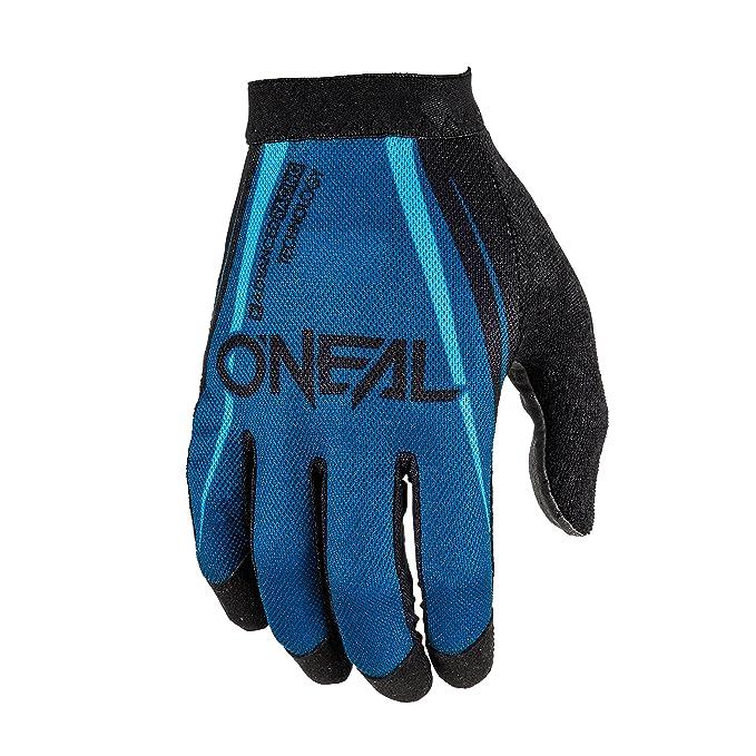 O/'neal AMX MTB Mountain Bike Full Finger Glove Greg Minnaar Red Grey M