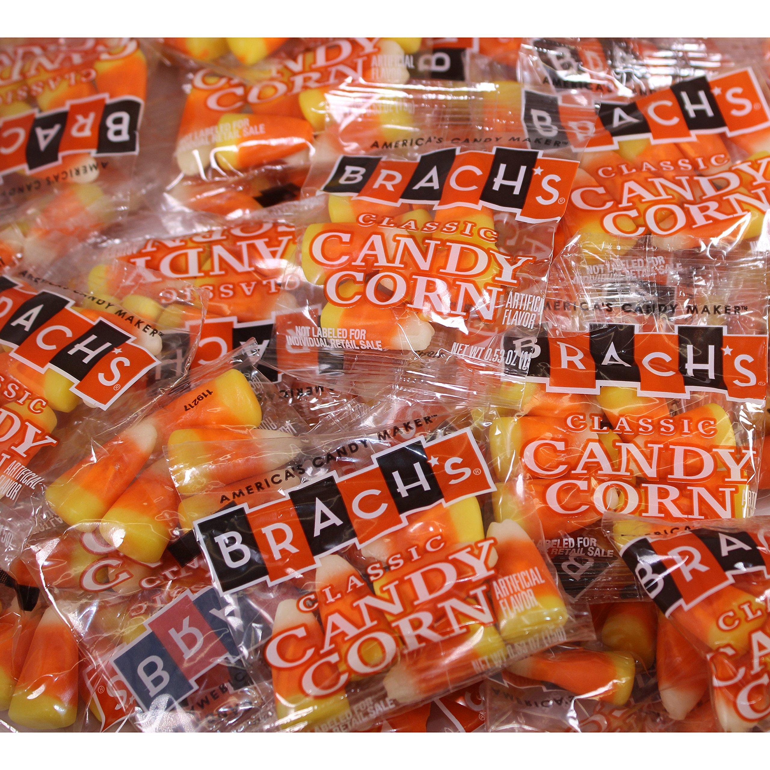 Brach's Classic Candy Corn, 110 Treat Bags, .5 Ounce each, 55 Ounces Total by Brach's