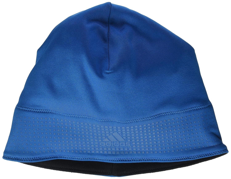 adidas Herren Running Climaheat Beanie Unity Blue F16/Black OSFM ADIEY|#adidas AX8766_OSFM