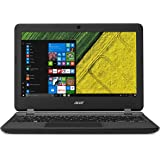 Acer Aspire ES1-132 11.6-Inch Notebook - (Black) (Intel Celeron N3350 Processor, 4 GB RAM, 32 GB eMMC, Windows 10)
