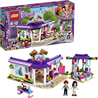 Lego Friends Emma's Art Café Building Blocks for Girls 6 to 12 Years (378 pcs)  41336 (Multi Color)