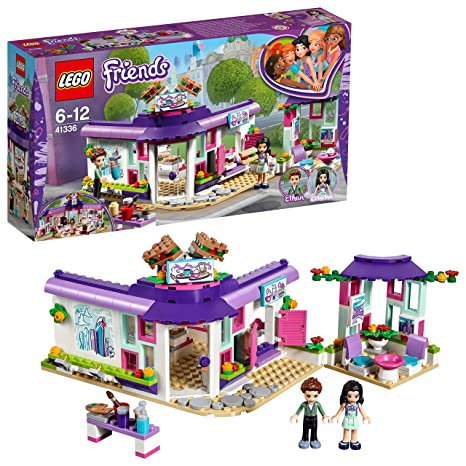 LEGO Friends 41336 - Emmas Künstlercafé, Unterhaltungsspielzeug