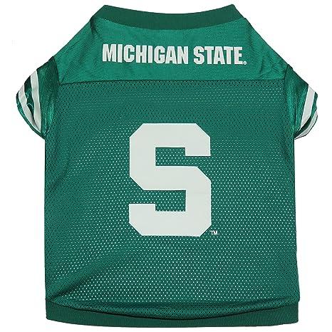 Amazon.com   NCAA Michigan State Spartans Football Dog Jersey 1dbe6aadc