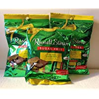 Russell Stover Sugar Free Toffee Squares 3oz (Pack of 3) - SET OF 2