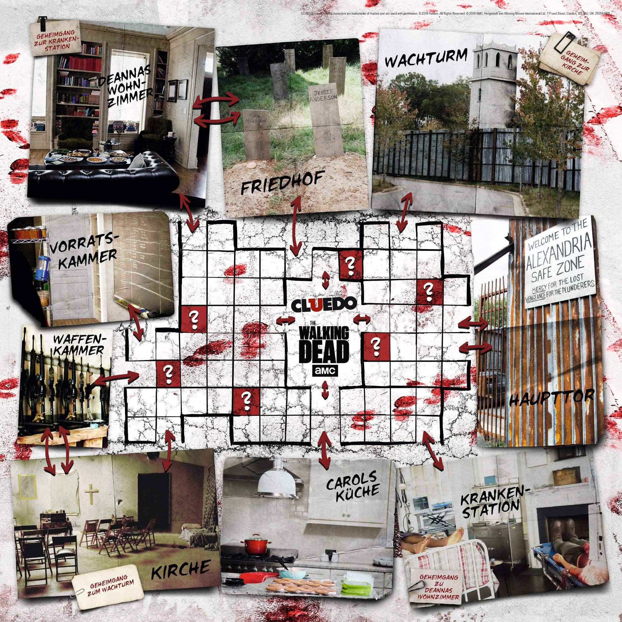 Cluedo The Walking Dead AMC: Amazon.es: Winning, Moves: Libros en idiomas extranjeros