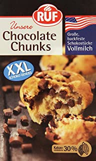 1kg Schokotropfen Vollmilch Chokolate Chips Für Cookies Muffins 1000g Backzubehör & Kuchendekoration Feinschmecker