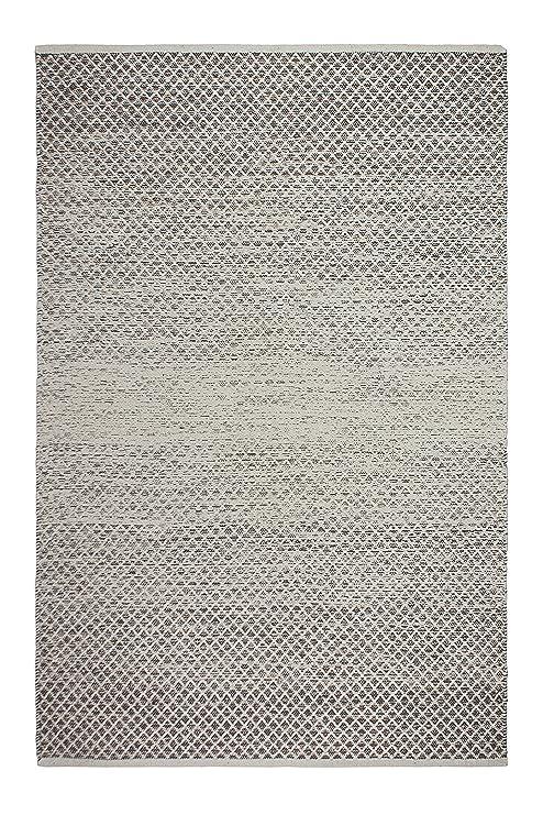 Fab Habitat Reversible Cotton Area Rugs | Rugs for Living Room, Bathroom  Rug, Kitchen Rug | Machine Washable | Aurora - Gray | 4\' x 6\'
