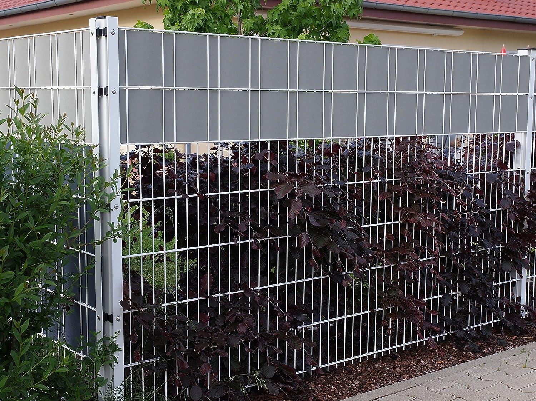 50 Metre Sichtschutzstreifen Zaunfolie Fence Cover Wind And