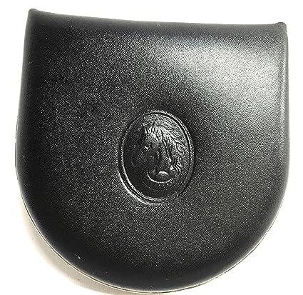 Yojan Piel Monedero de Tacón Negro