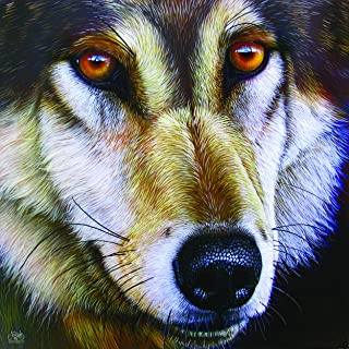product image for Wolf Face 1000 pc Jigsaw Puzzle by SUNSOUT INC