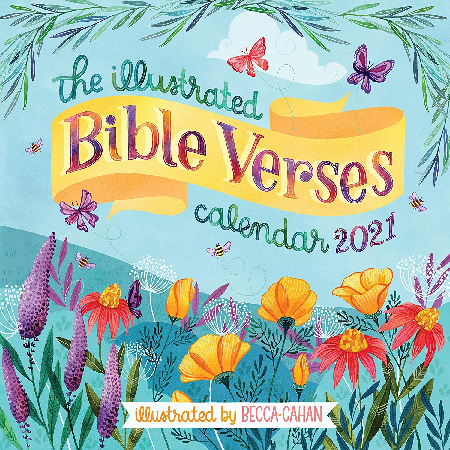 The Illustrated Bible Verses Wall Calendar 2021 [12