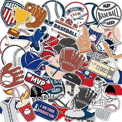 Anor Wishlife Baseball PVC Waterproof Stickers
