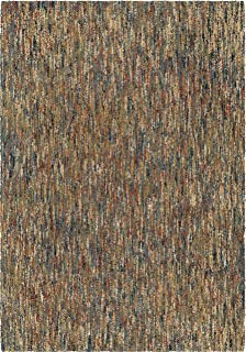 "product image for Orian Rugs Next Generation Multi-Solid Layered Area Rug, 7'10"" x 10'10"", Multicolor"