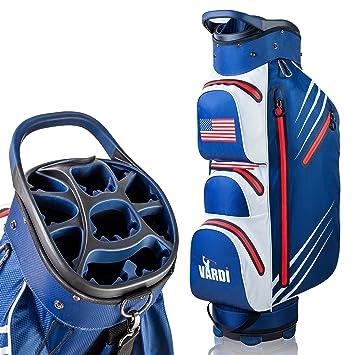 VARDI - Bolsa para Carrito de Golf, Color Rojo, Blanco y ...