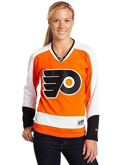 NHL Women s Philadelphia Flyers Reebok Premier Team Jersey - 7214W5W1Wrpfl  (Orange ccbfdde95