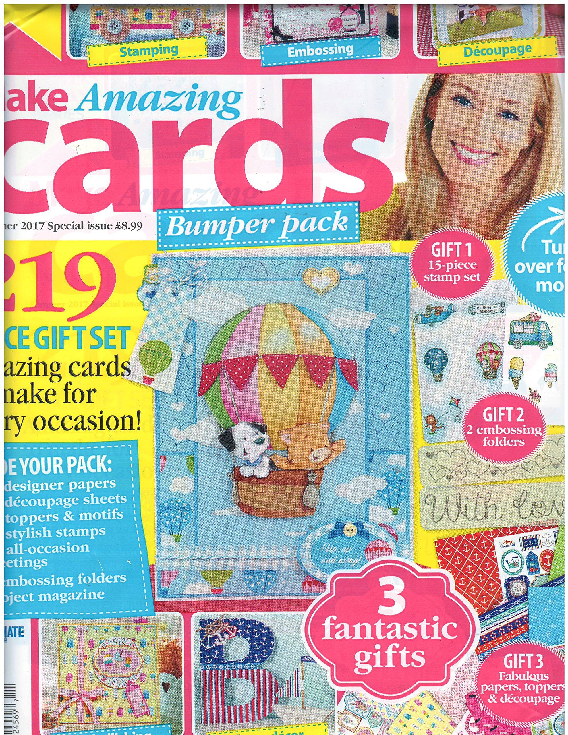 Make Amazing Cards Magazine Summer 2017 (Make Cards Today Series) pdf