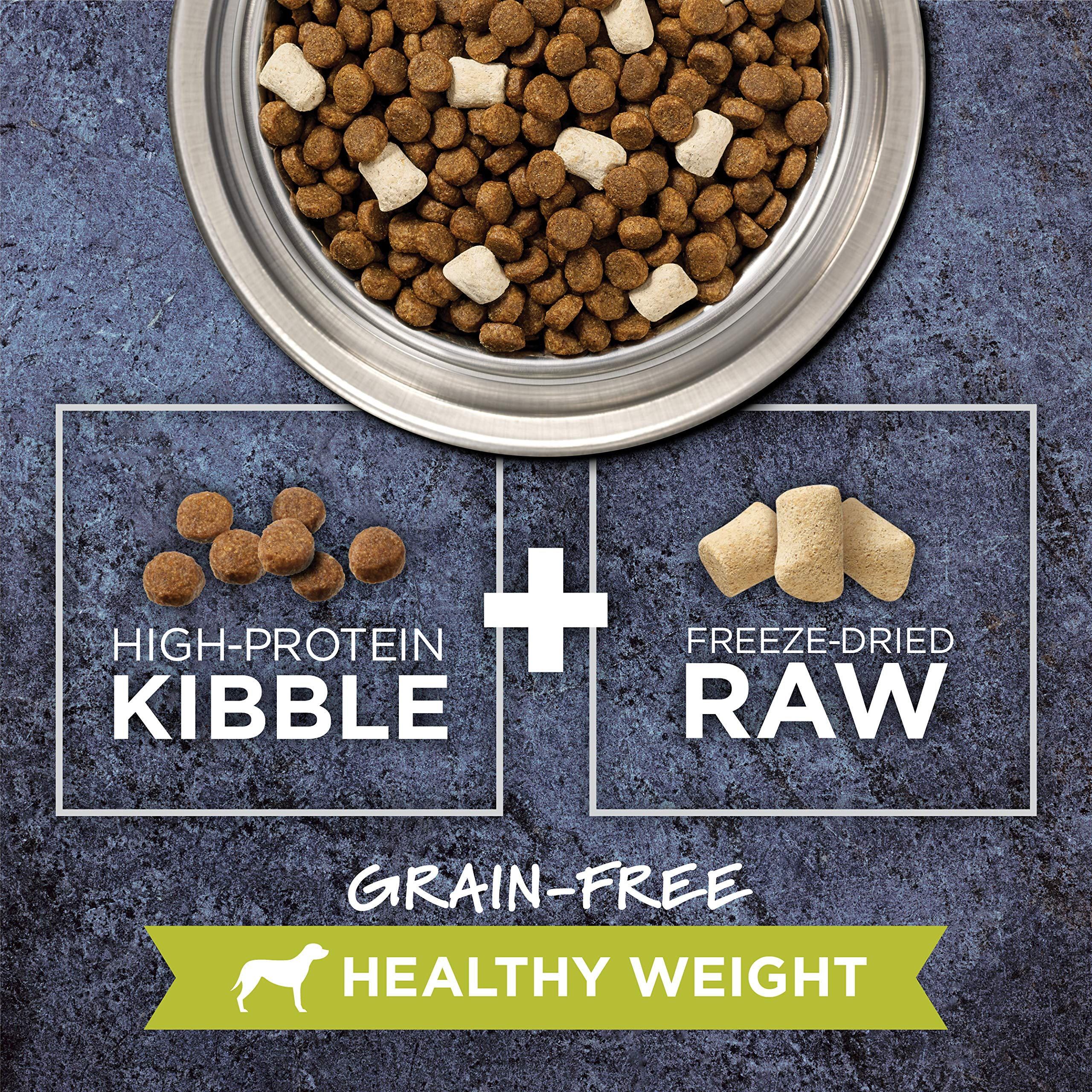 Instinct Raw Boost Healthy Weight Grain Free Recipe with Real Chicken Natural Dry Dog Food by Nature's Variety, 20 lb. Bag by Instinct (Image #3)