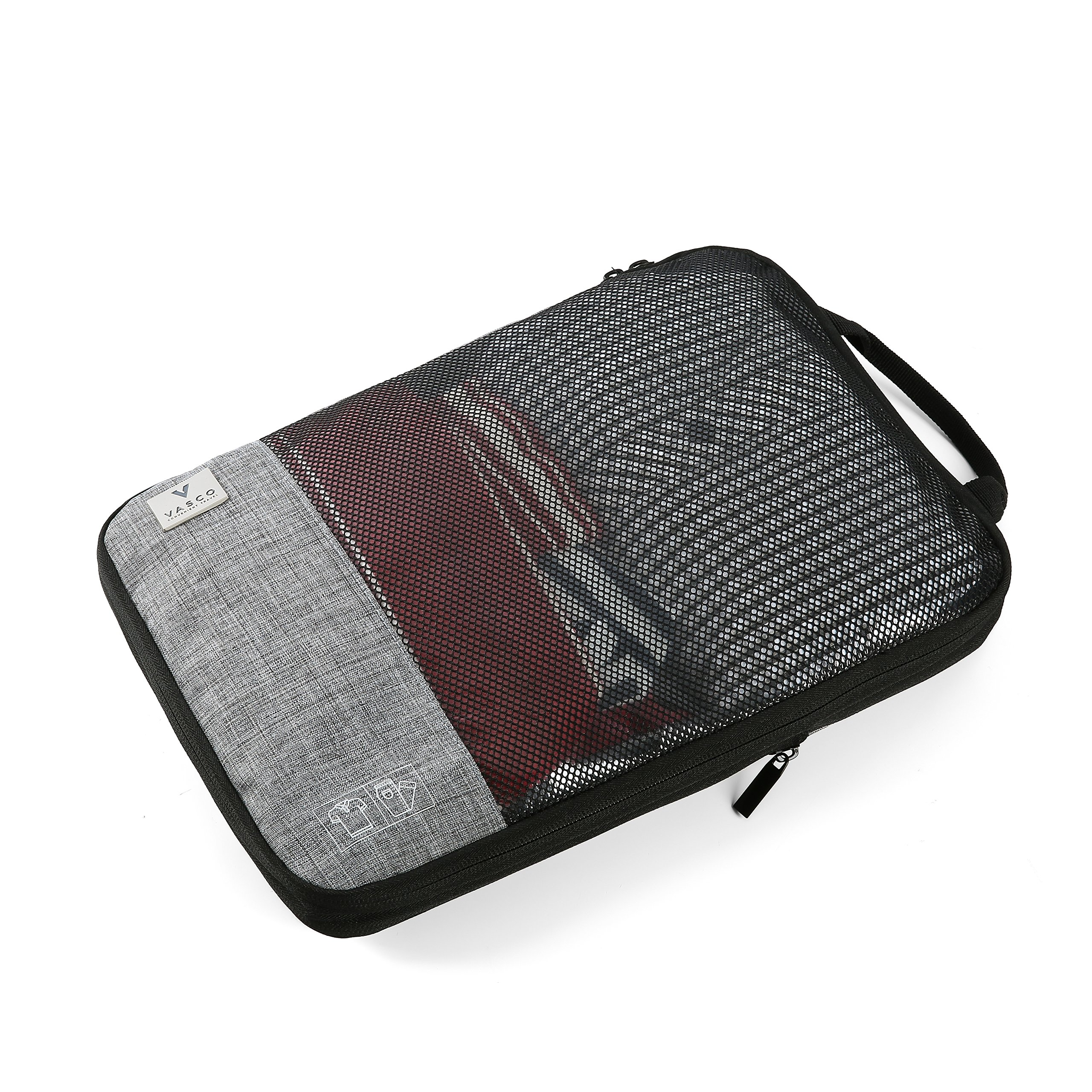 VASCO Compression Packing Cubes for Travel – Set of 3 Slim Packing Cubes by Vasco (Image #2)