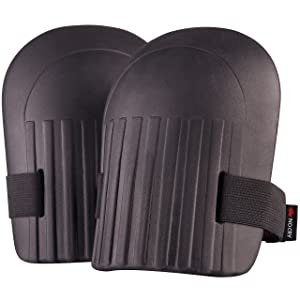 NoCry Home & Gardening Knee Pads - with Lightweight Waterproof EVA Foam Cushion, Soft Inner Liner, and Easy Fit with Adjustable Velcro Straps