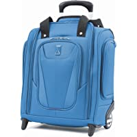 Travelpro Maxlite 5 Rolling Underseat Compact Carry-On Bag, Azure Blue, 15-Inch