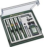Faber-Castell TG1-S - Set de bolígrafos para dibujo técnico (4 grosores de trazo: 0,25, 0,35, 0,50 y 0,70mm)