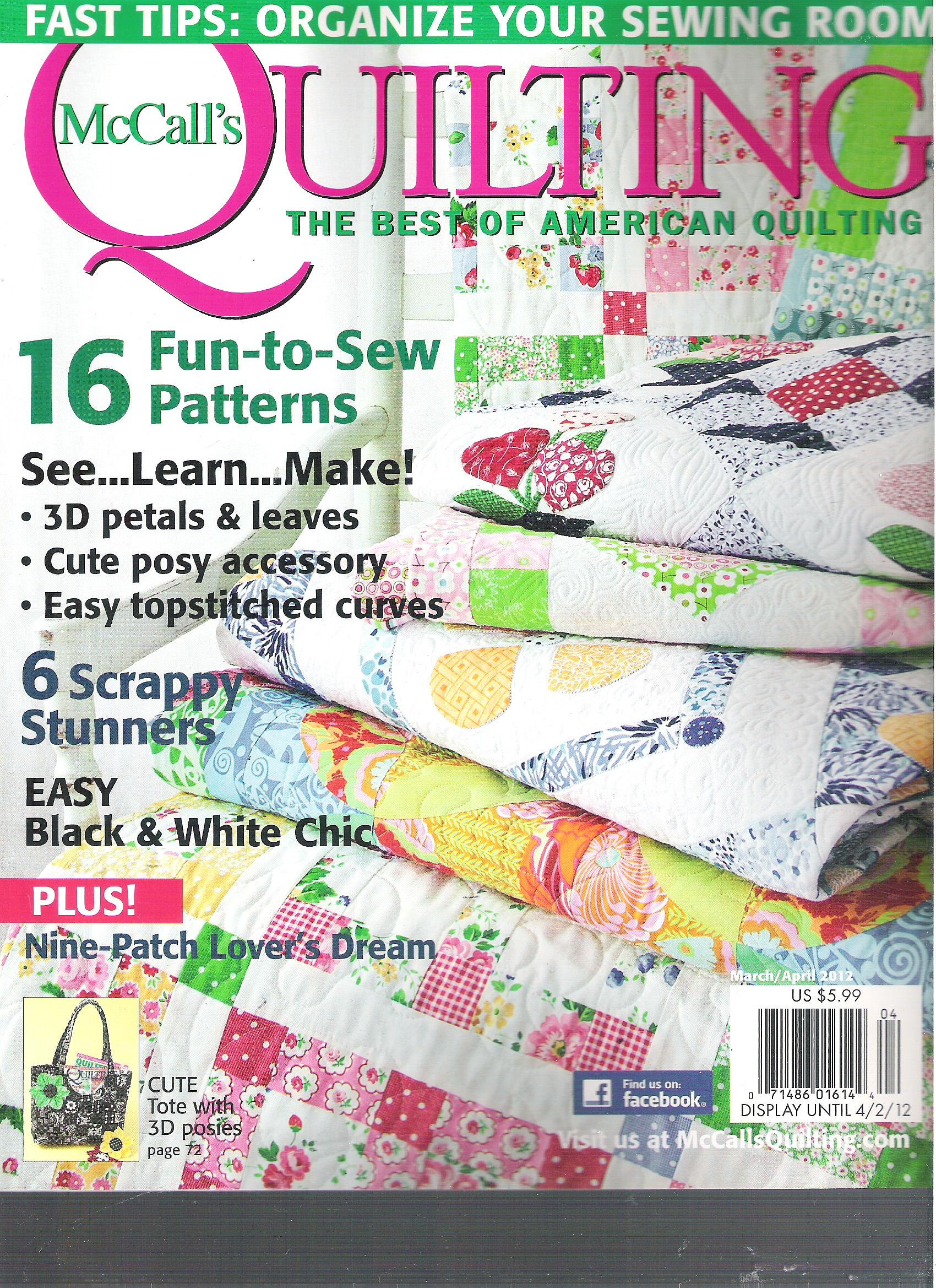 Download McCall's Quilting Magazine (March April 2012) pdf