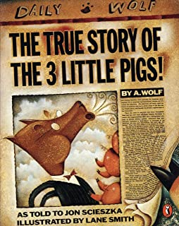 The Three Little Wolves And The Big Bad Pig Activities