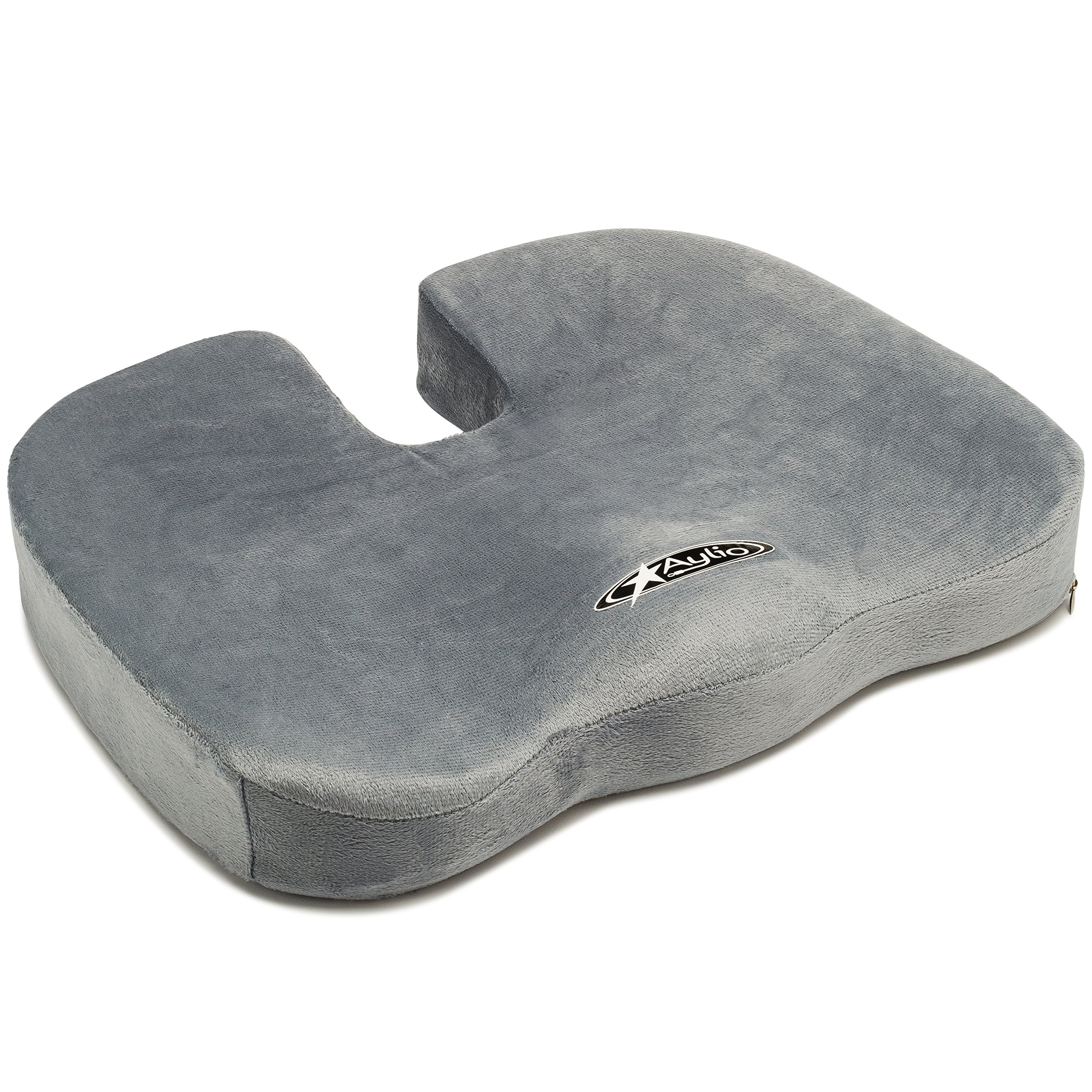 Amazon Perfect Posture Memory Foam Seat Cushion NeverFlat