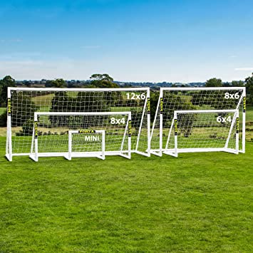 FORZA Locking Soccer Goal Posts | Ultimate PVC Backyard Soccer Goals for  Kids [5 Sizes]