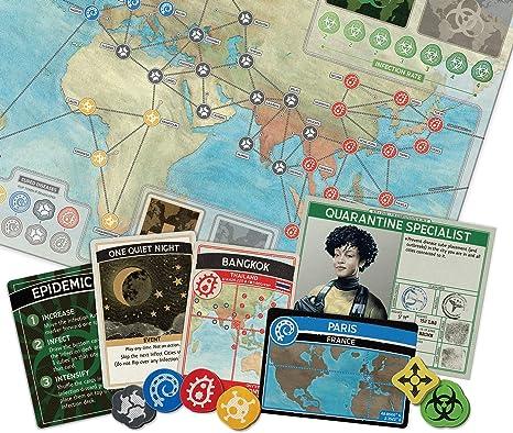 Juego de Mesa Pandemic: Amazon.es: Juguetes y juegos