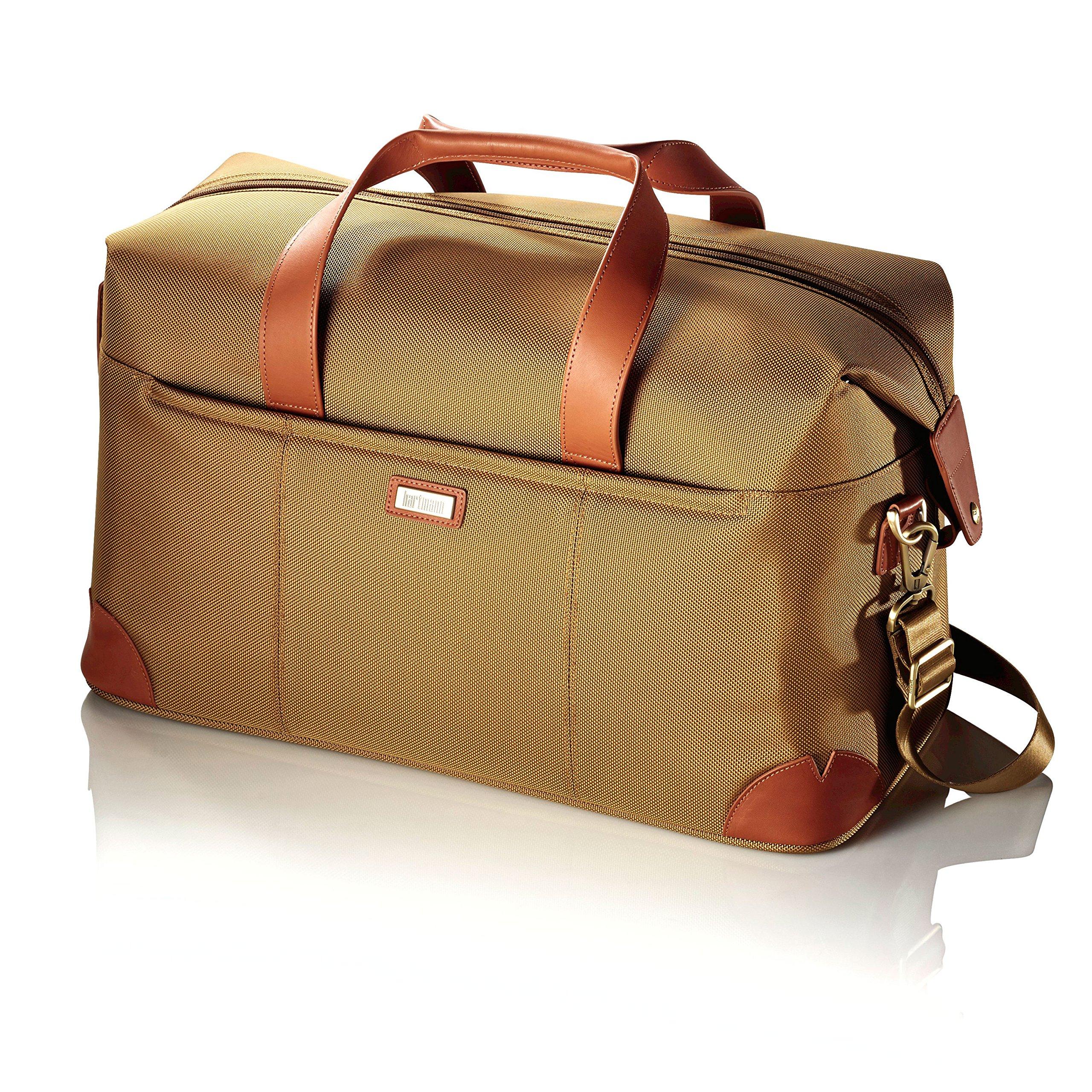 Hartmann Ratio Classic Deluxe Weekend Nylon Duffel Bag in Safari