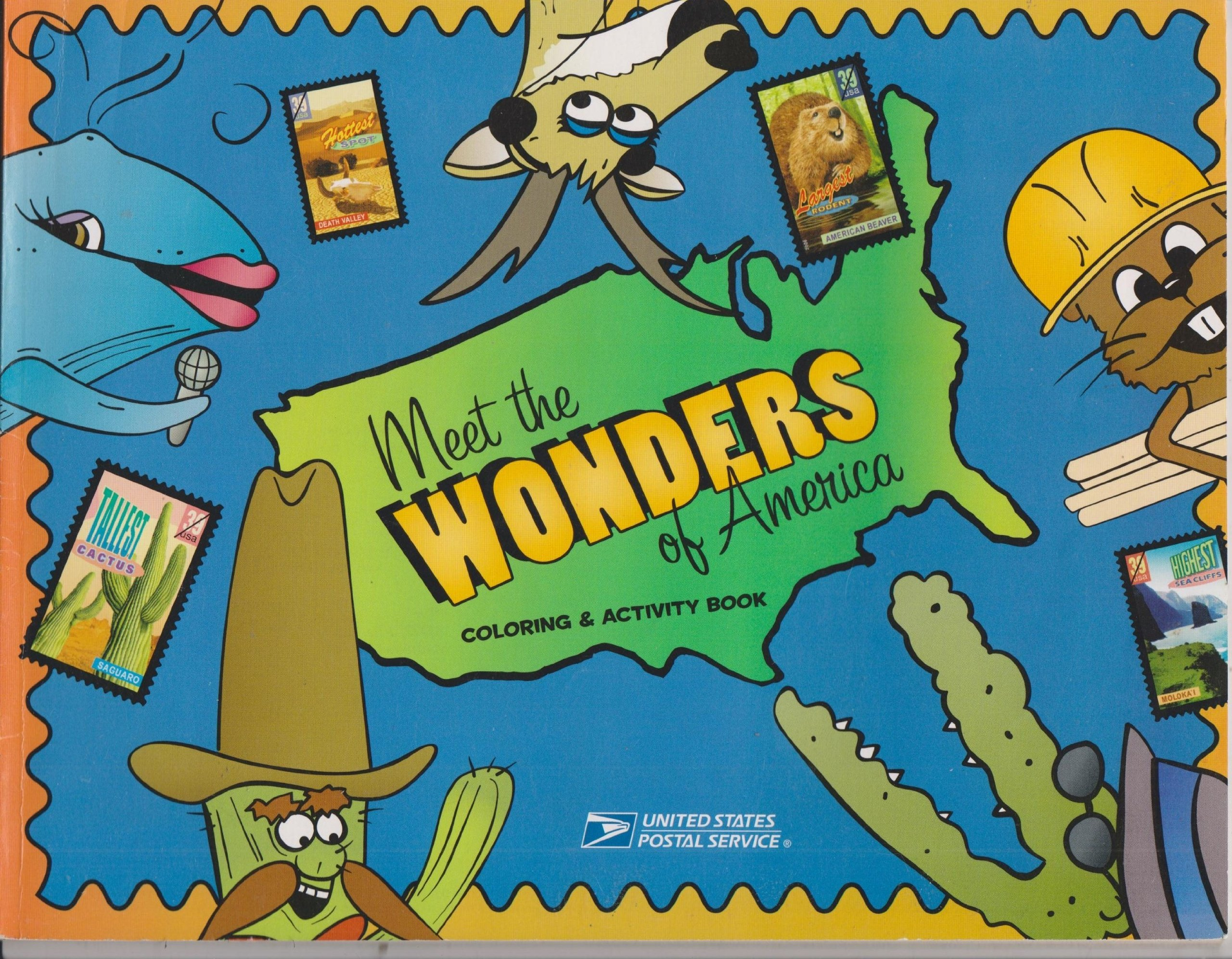 Meet the Wonders of America Coloring & Activity Book pdf epub
