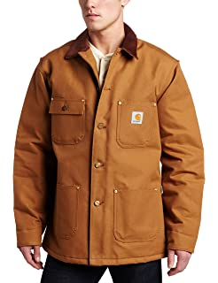 Carhartt Mens Ridge Coat Sherpa Lined Sandstone C61 at ...