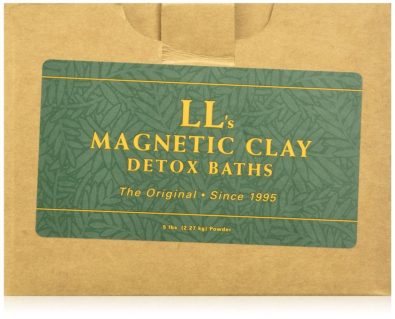 Amazon.com : LL\'s Magnetic Clay TOX AWAY Detox Bentonite Clay Bath ...