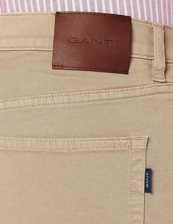 GANT Slim Desert Jeans Pantal/ón de Vestir para Hombre