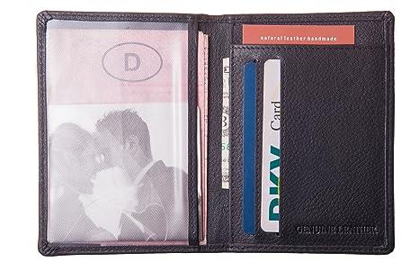 Tarjetero, carteras extrafinas, piel autentica y hechas a mano.