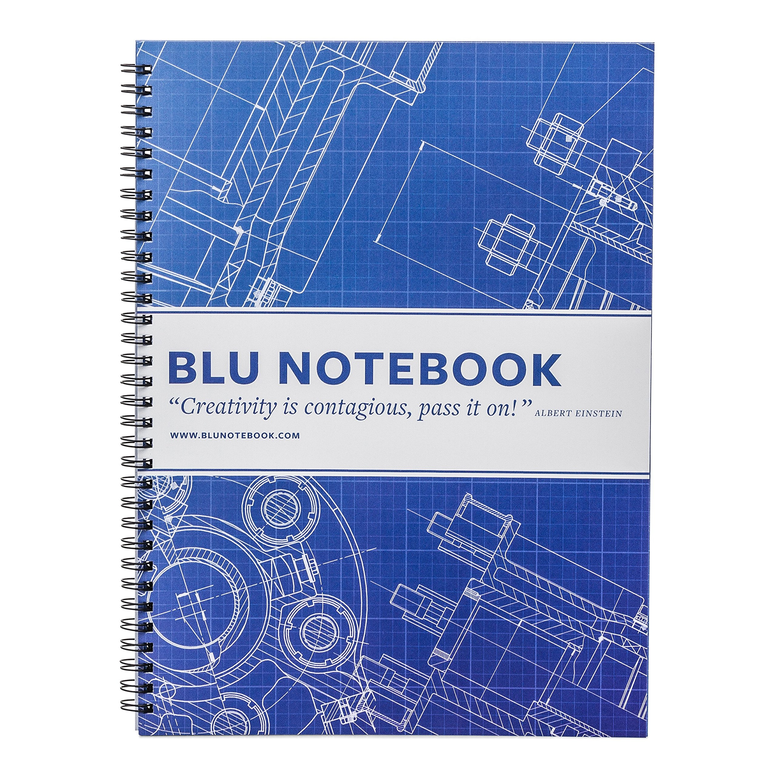 """Blueprint Paper Journal by BLU Notebooks 