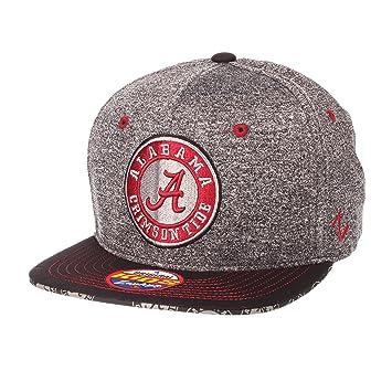 buy online 8238e 04e84 Amazon.com   Zephyr NCAA Alabama Crimson Tide Children Boys Prodigy Youth  Snapback Hat, Youth Adjustable, Gray Team Color   Sports   Outdoors