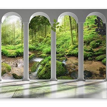 murimage PHOTO WALL MURAL,Wedding Time 106/' 366cm x 254cm love aisle garden