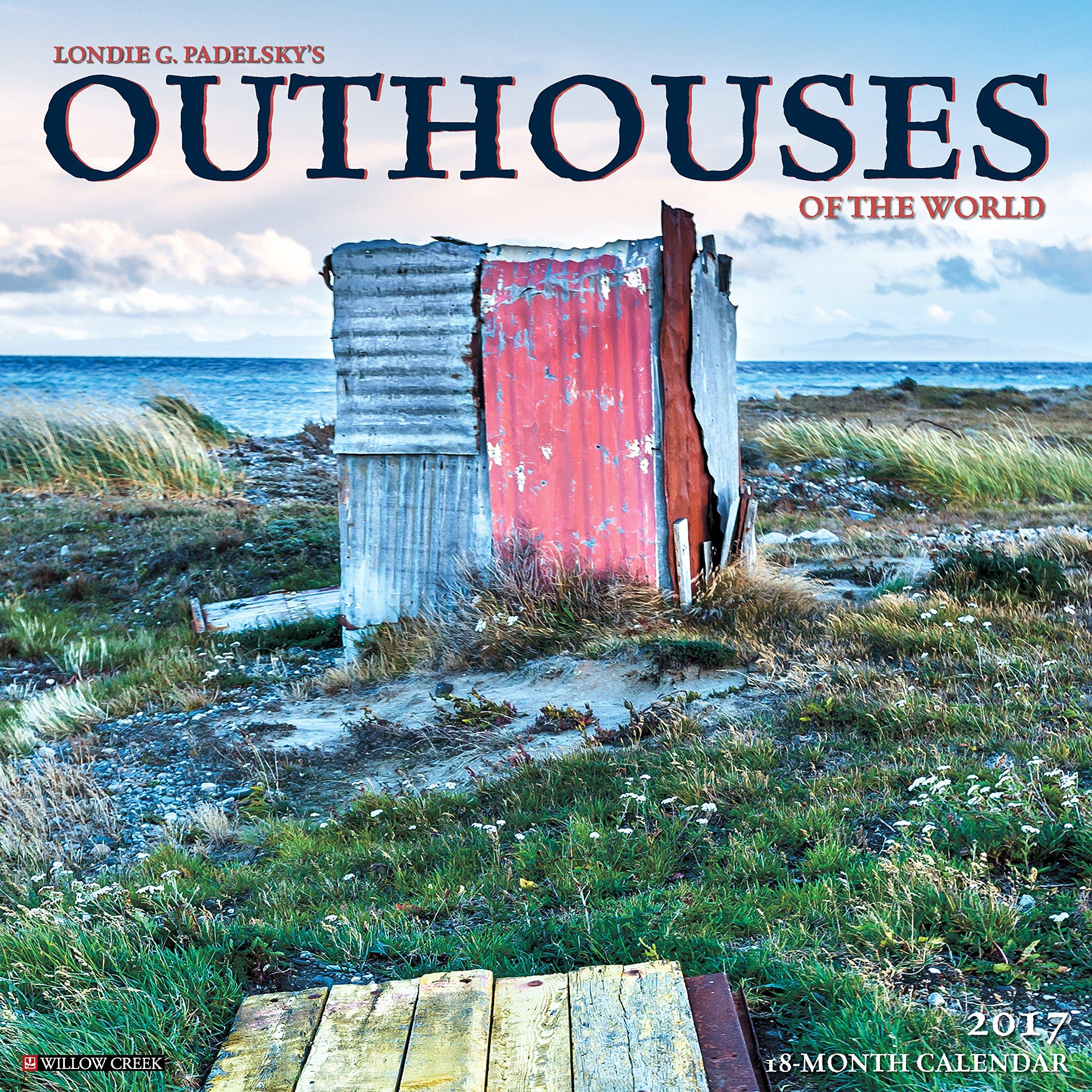 Outhouses 2017 Wall Calendar: Willow Creek Press: 9781682341599:  Amazon.com: Books