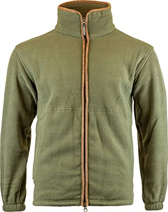 JACK PYKE Countryman Mens Fleece Jacket Light Olive